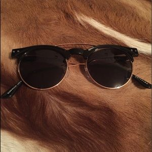 Spitfire black and gold sunglasses
